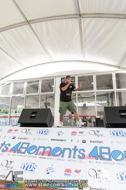 4Elements All age Hip Hop Festival Sydney Bankstown Vyva Entertainment #4esyd Chris Woe (56)