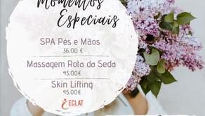 Momentos especiais maio e junho - Eclat Spa