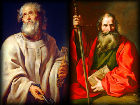 Peter and Paul Found Identity in Me