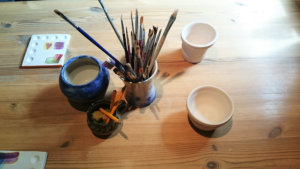 MayInspire Pottery Painting