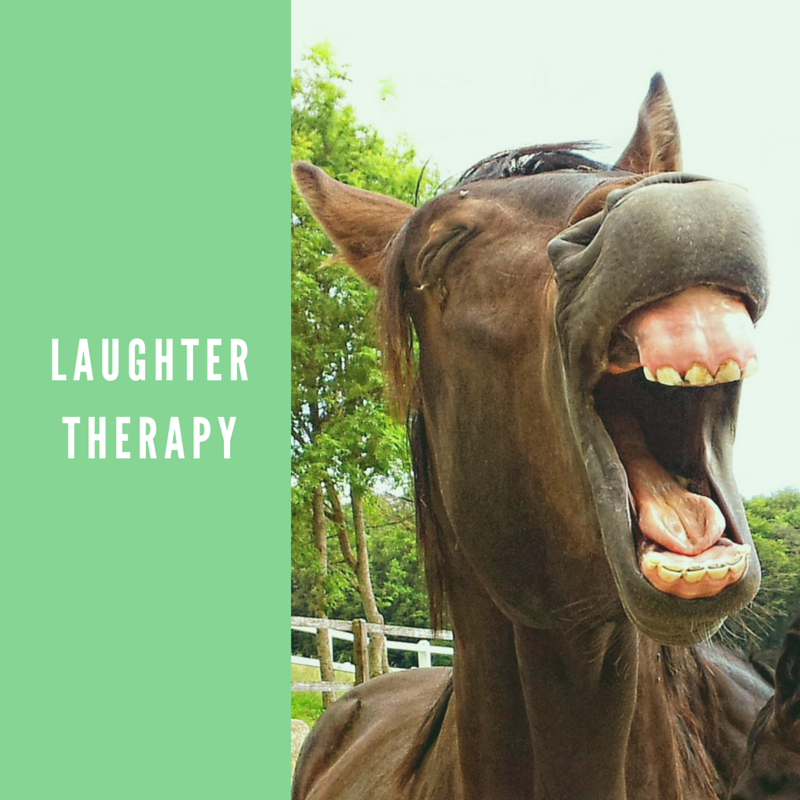 MayInspire tries out laughter therapy