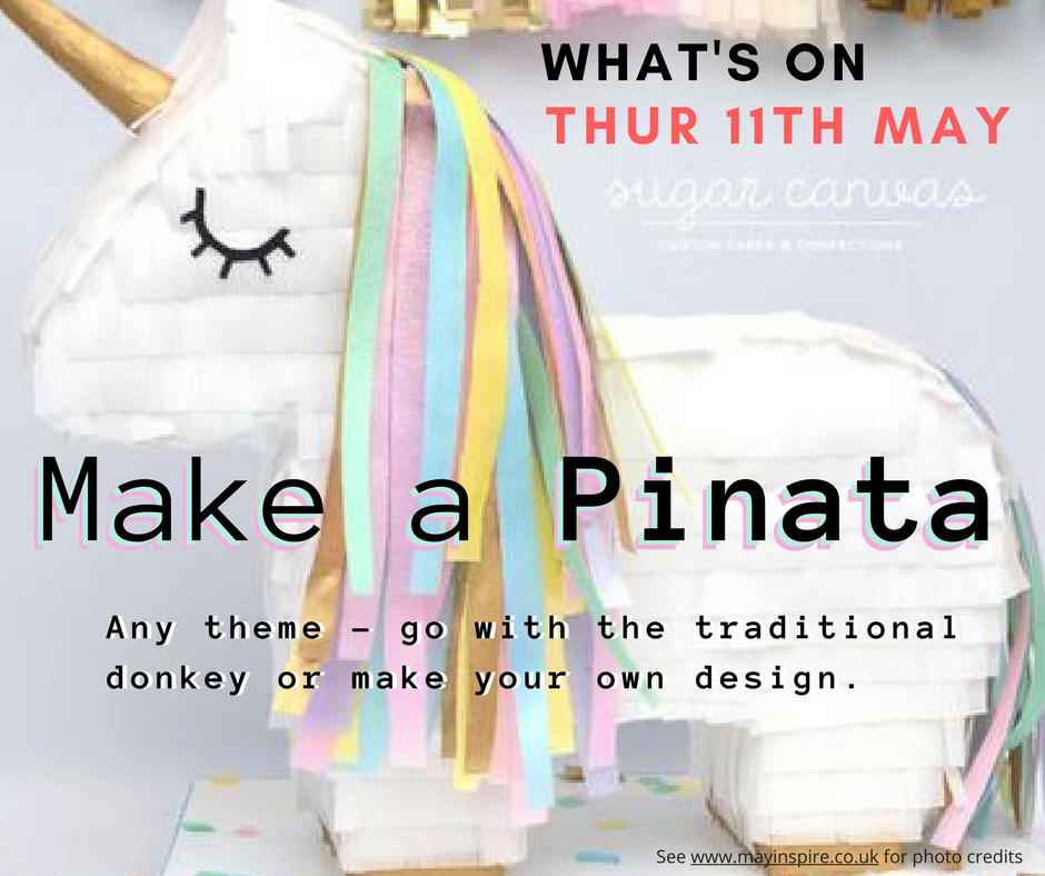 Make A Pinata at the Woolston Craft Group