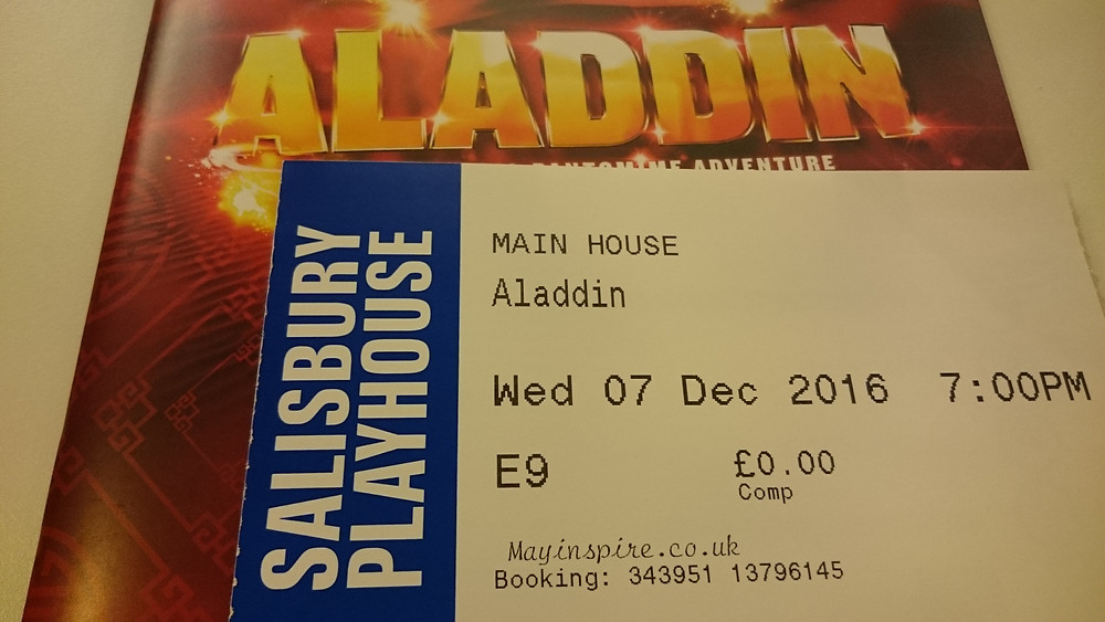 Aladdin - MayInspire theatre review