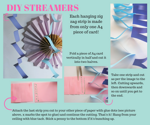 How to make DIY streamers