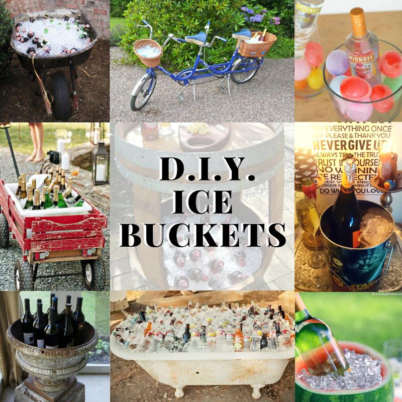 D.I.Y. Ice Buckets