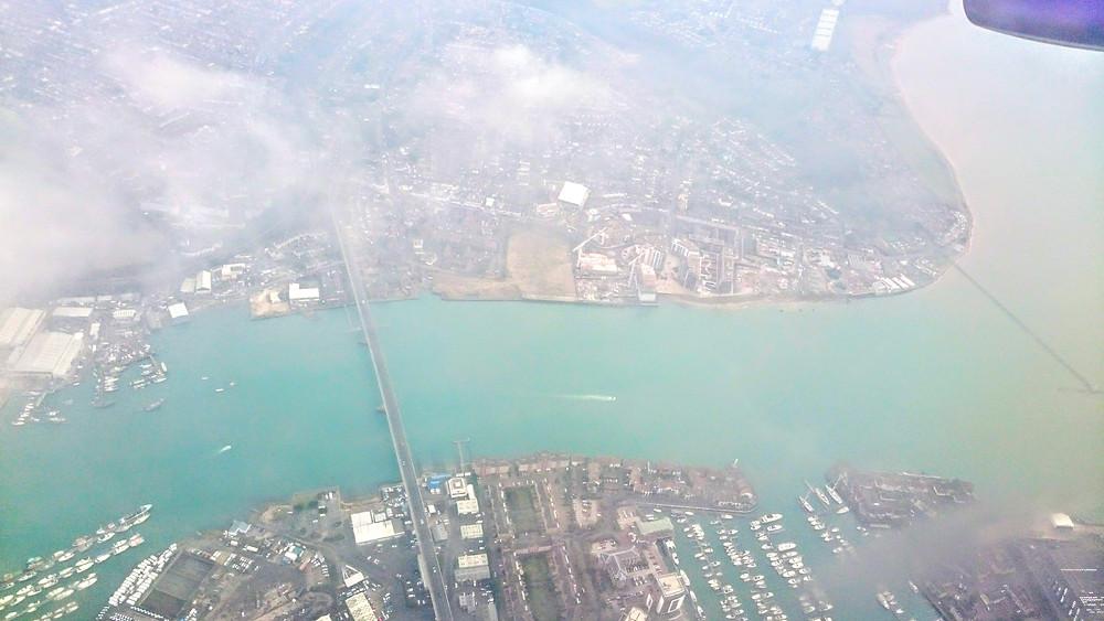 Southampton bird's-eye view