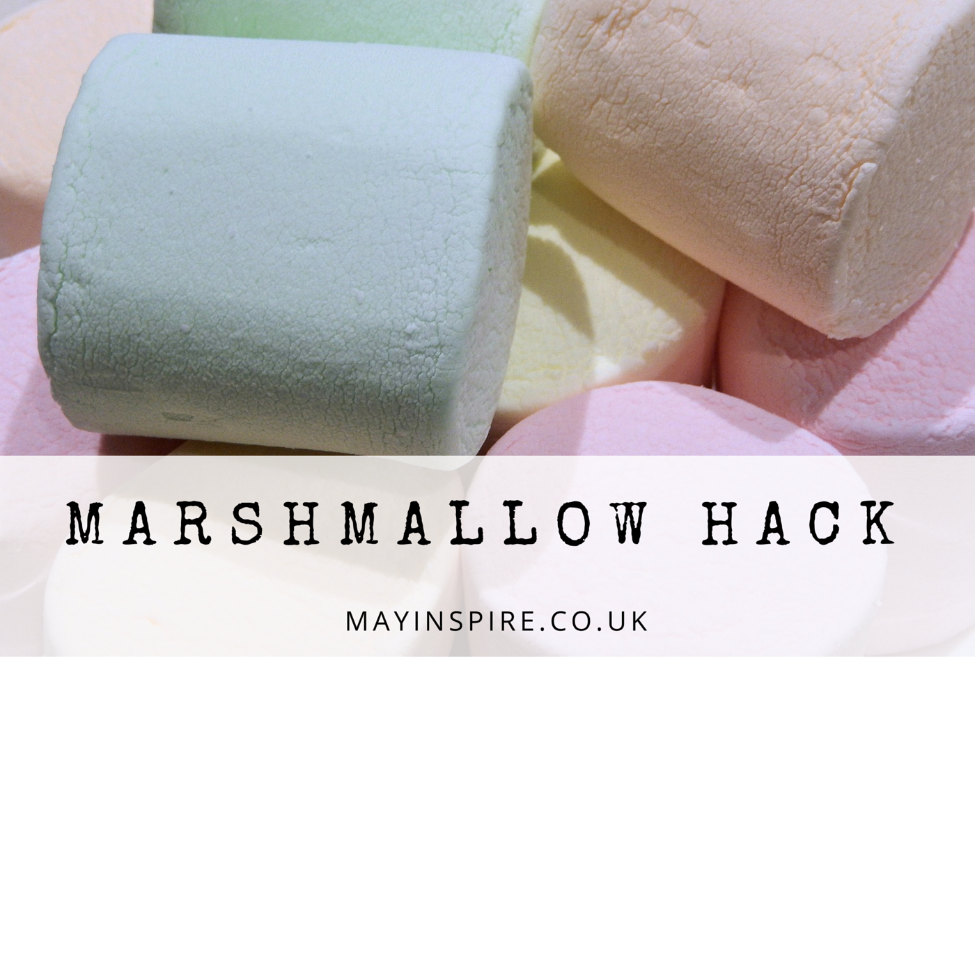 As a hot chocolate fan, I love a marshmallow or six! If I leave the bag open and they go a little hard, I pop them in the freezer. They are lovely when frozen, almost like the inside of a snicker bar! Try, you will not regret it…well unless you hate marshmallow!   🍸 ✂