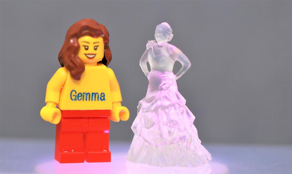 3D Wedding Printed Figures