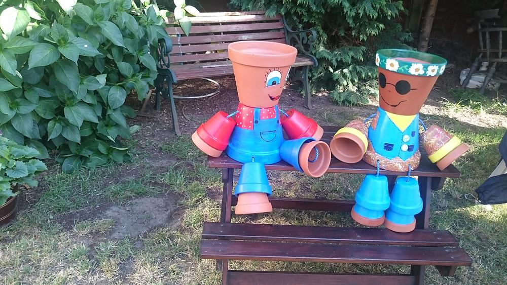 Make your own plant pot people workshop