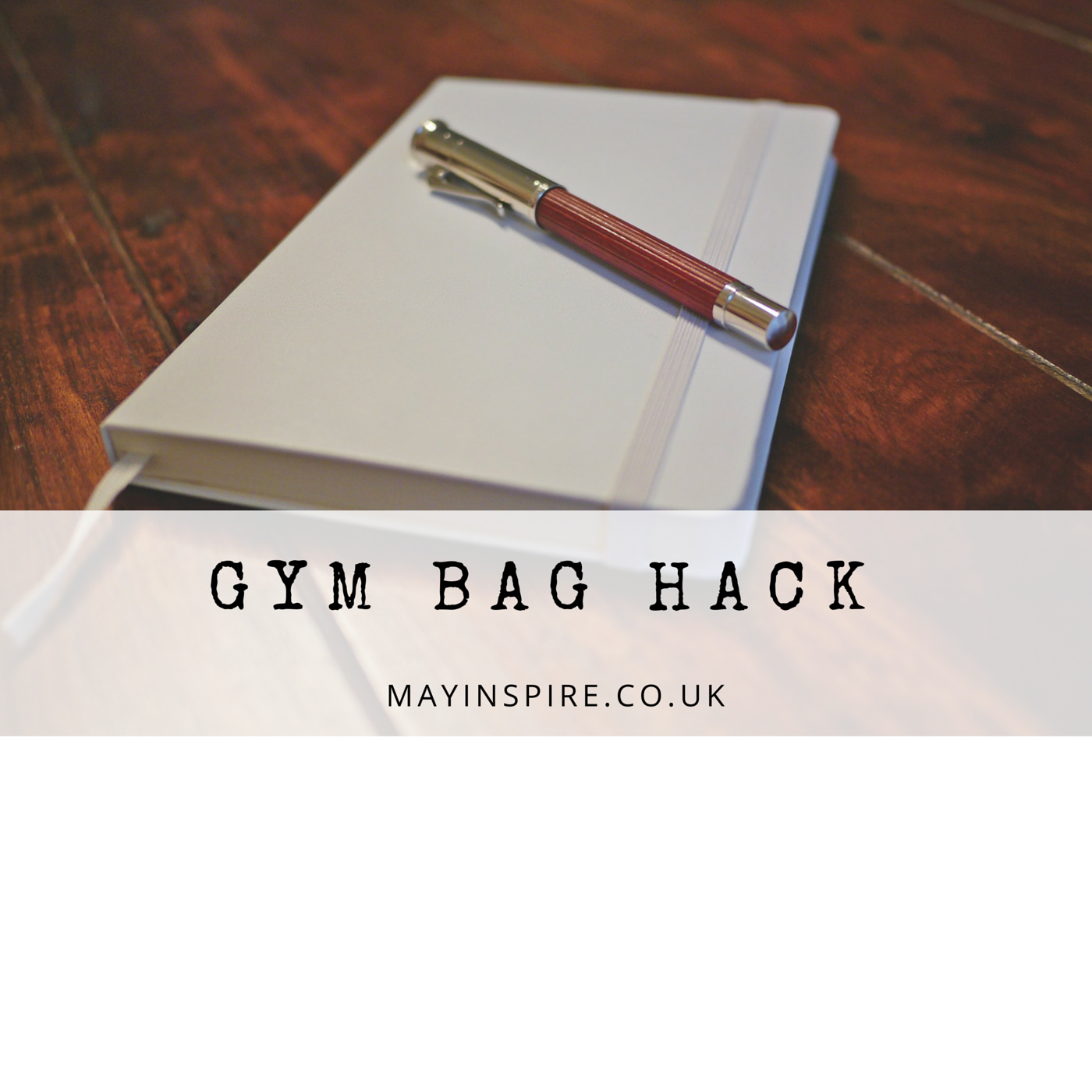 Don't forget your hair bands and water for the gym ever again!  I have made a list of all the things I need for the gym, and whiz through it while packing my gym bag up. The rest of the book is great for fitness records and goals!   🍸 ✂