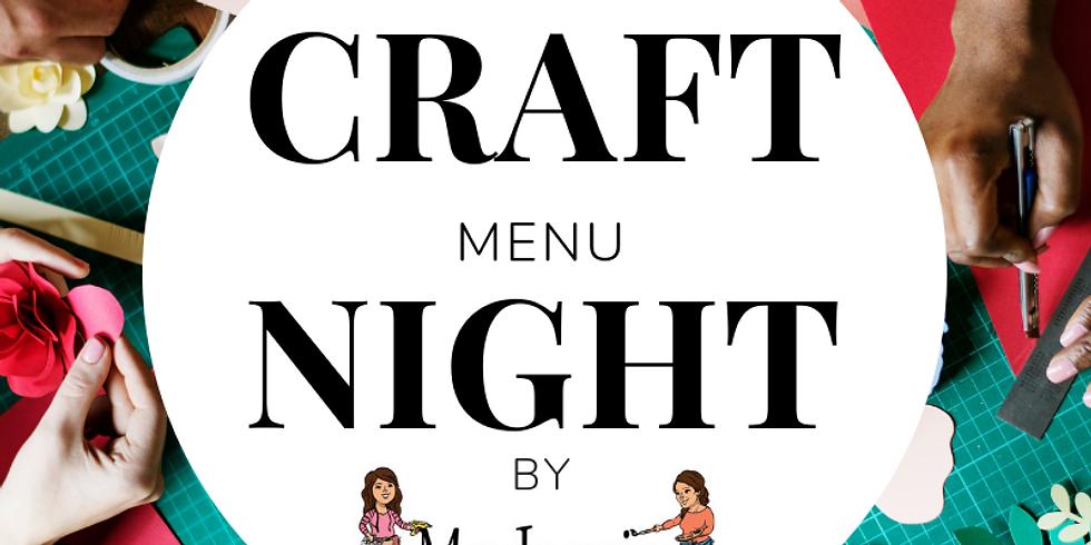 Craft Menu Night