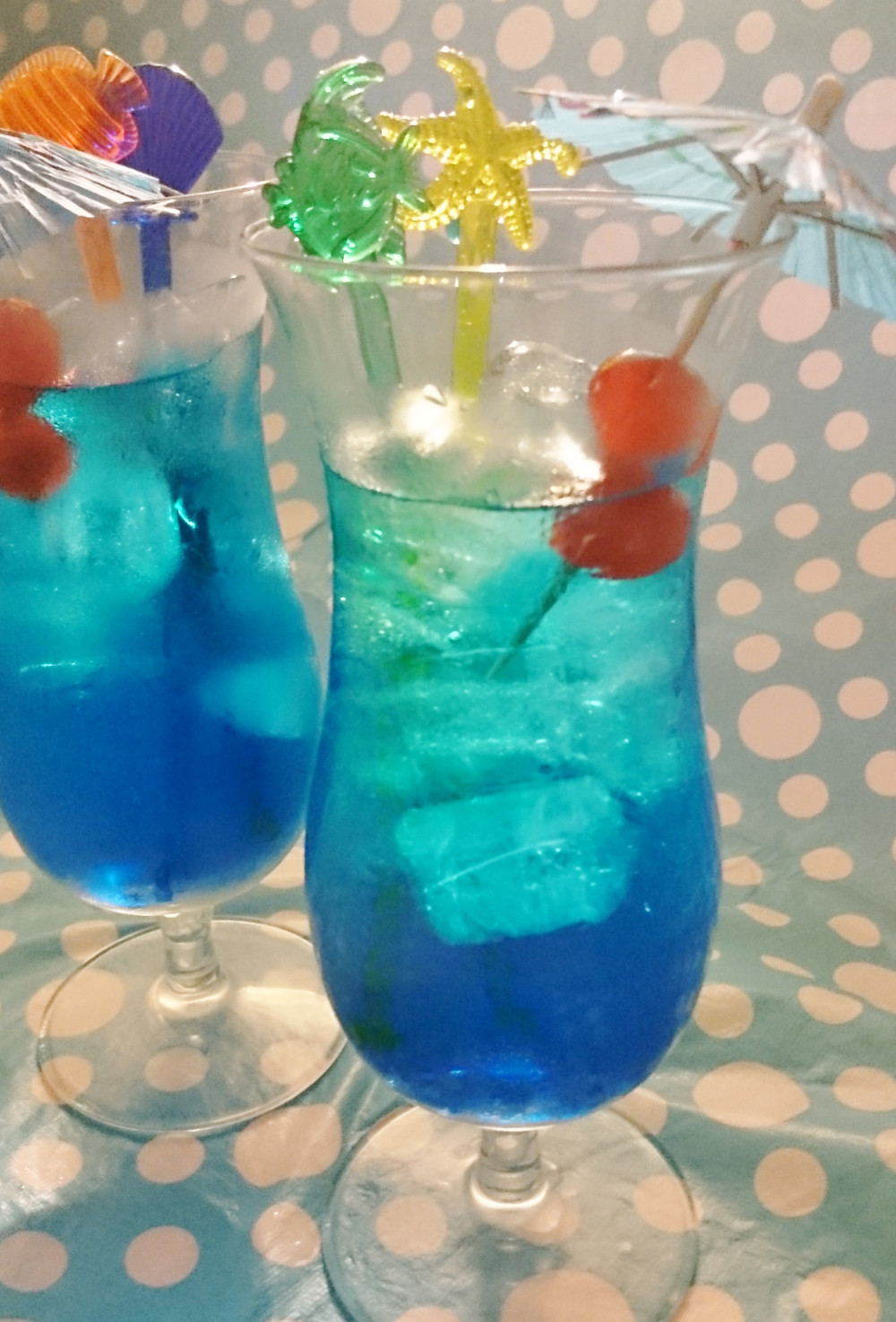 MayInspire Blue Lagoon Cocktail