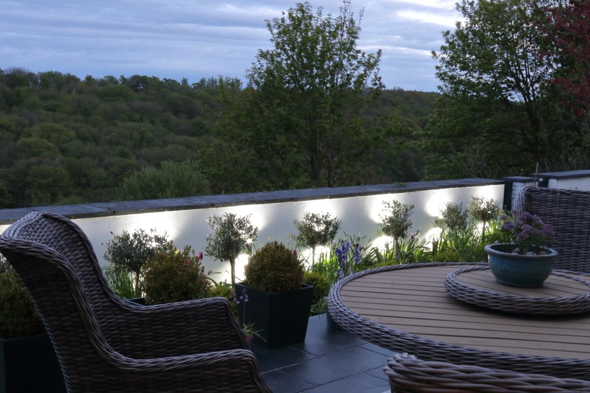 Garden View (Dusk)