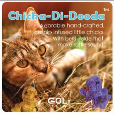 Chicka-Di-Dooda Catnip Infused Cat Toy