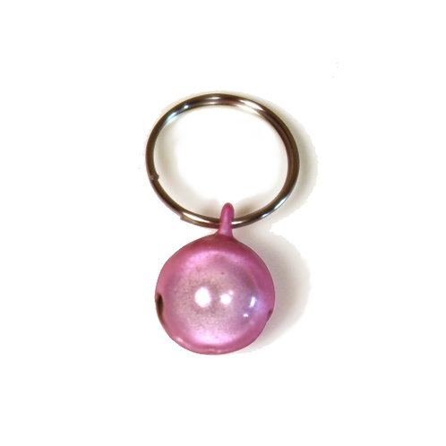 Small Pink Purrly Bell
