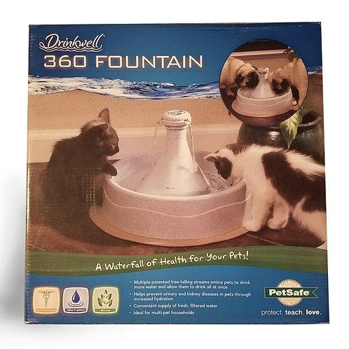 PetSafe 360 Drinkwell Fountain - brand New