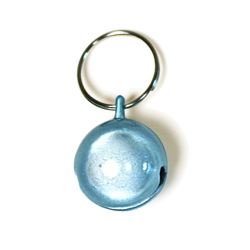 Large Purrly Bell - Blue