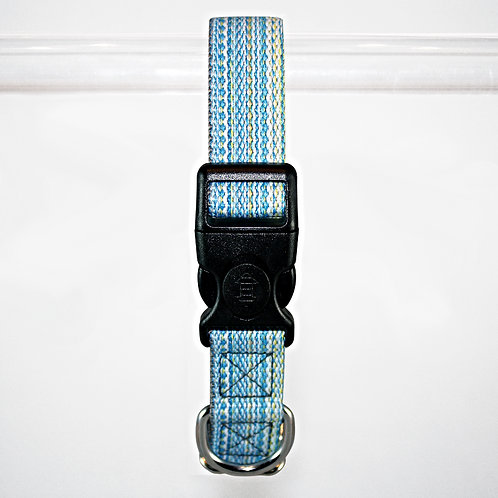 Haight Ashberry Re-purposed Dog Collar - Large  Blueberry