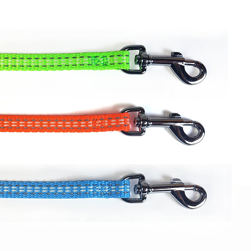 BellaLuna Glow in the Dark & reflective leashes - Small