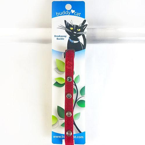 Buddy Cat Rhinestone Breakaway Cat Collar