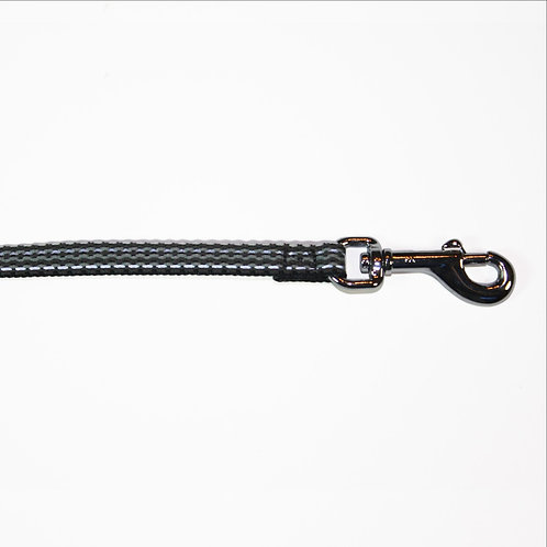 Haight Ashberry Reflective Dog Leash - Blackberry Small