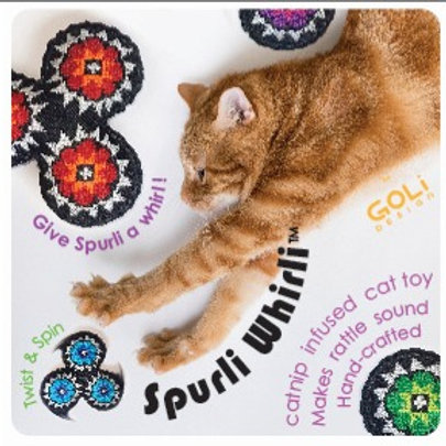 Spurli Whirli Catnip Infused Cat Toy