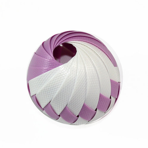 Roli Ball  - Lilac & White