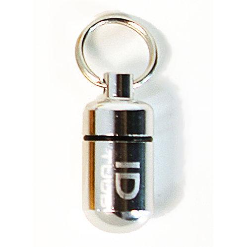 Pet ID TUUB - Large Silver