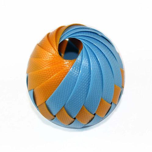 Roli Ball - Tangerine & Ice Blue