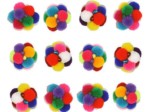 Catomic Balls refill set consist of 12 toys