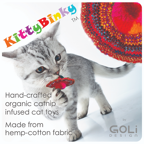 KittyBinky catnip infused cat toy