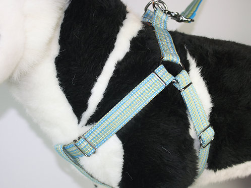 Haight Ashberry Dog Harness - Blueberry - Large