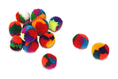 Pom Pom cat balls refill consist of 36 balls