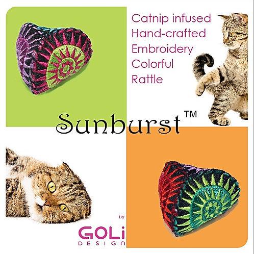 Sunburst Catnip Infused Toys - Assorted Colors