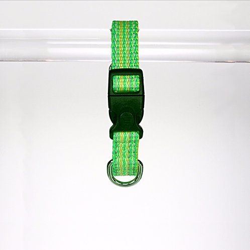 Haight Ashberry Reflective Dog Collar - Kiwiberry - Small