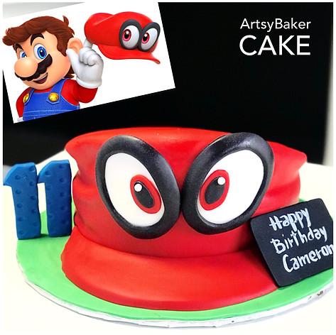 Mario's Hat Capy Cake