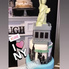 I Love New york Cake