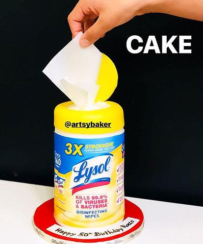 Wipe it clean cakes