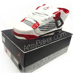 Air Jordan sneaker cake