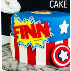 Captin America Cake