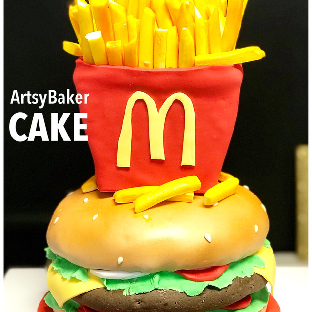 McDonalds cake