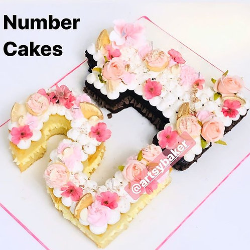 Number Cakes