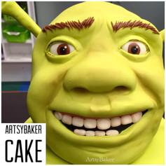 Shreck Cake