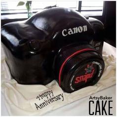 Snapd Camera Cake