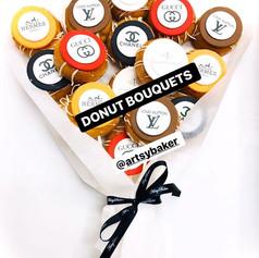 Themed Logo Donut Bouquet