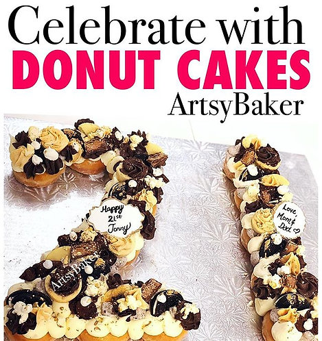 DONUT NUMBER CAKES