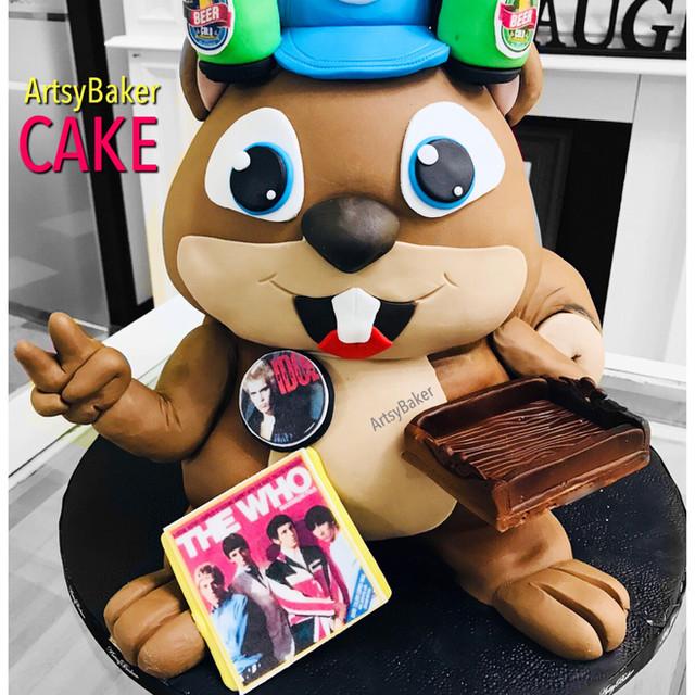 Beaver Cake