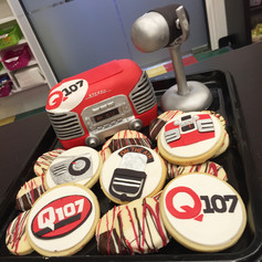 Q107 Cake and Cookies