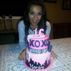 Gossip girl cake