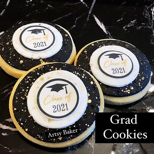 6 Grad Cookies (ind pkgd)